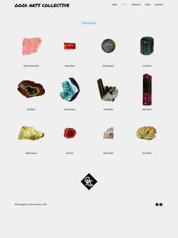 Good Arts Collective Website