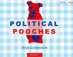 www.PoliticalPooches.com