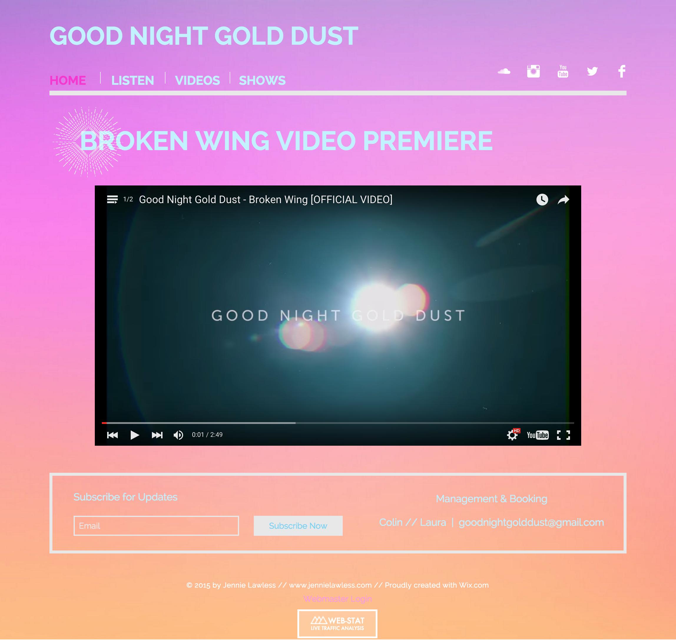 www.GoodNightGoldDust.com