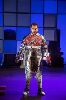Georgios Iatrou as Orfeas. Costumes by Daglara