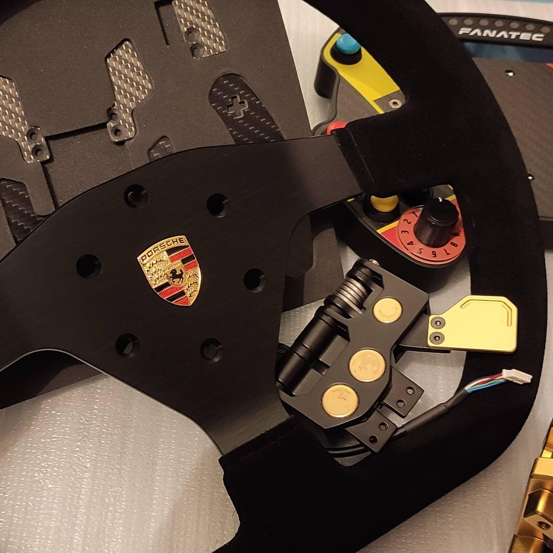 Volant Porsche GT3 Cup