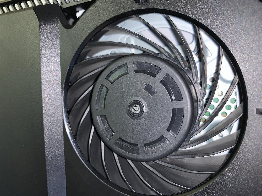 PS4 Fan Cleaned