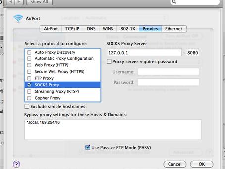 Mac OS Socks Proxy re-enabling after reboot?