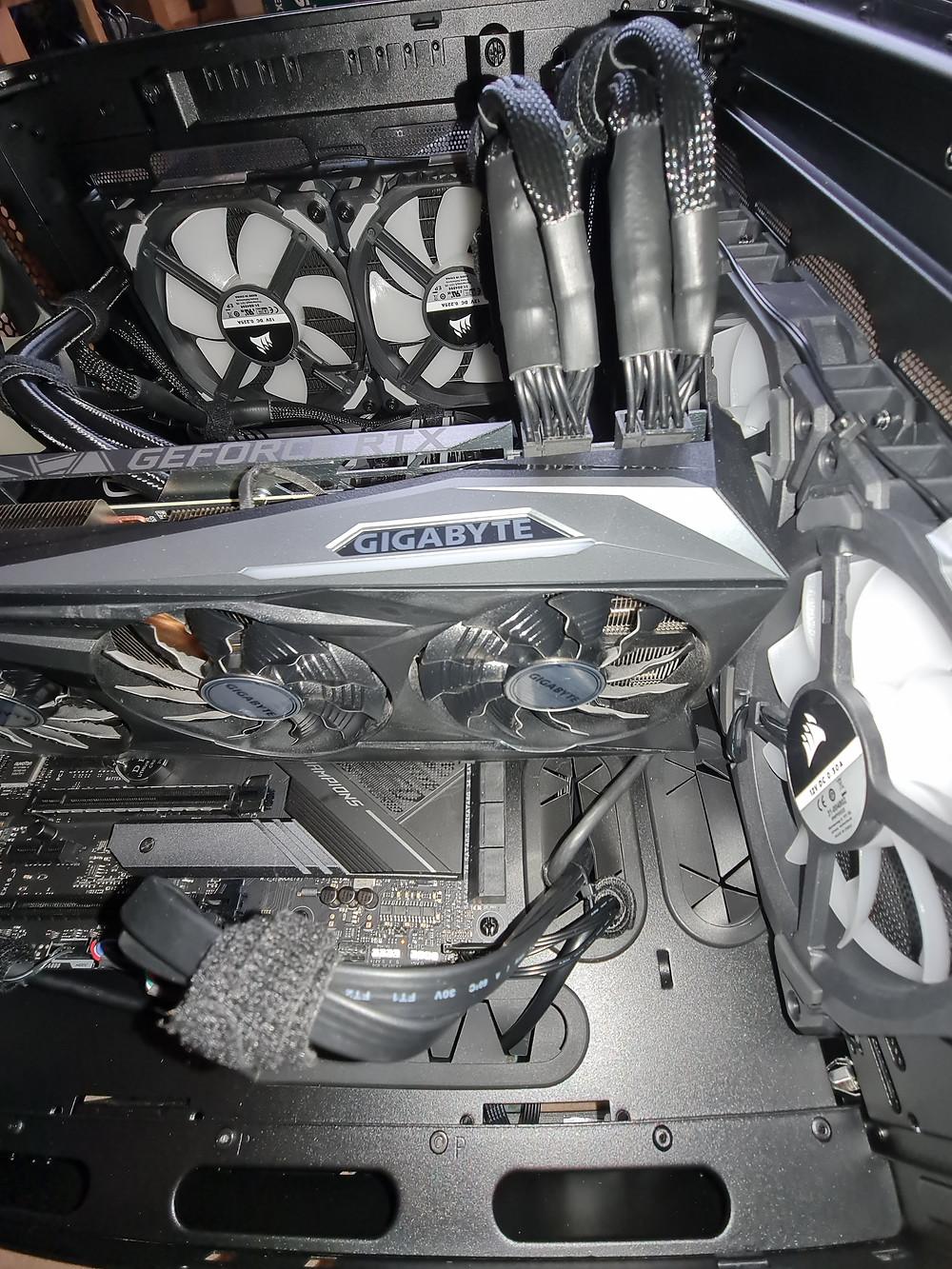 GPU PCIE connectors