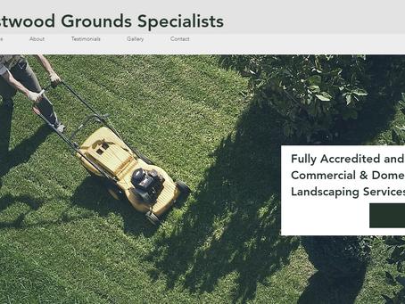 Local Landscape Gardener website