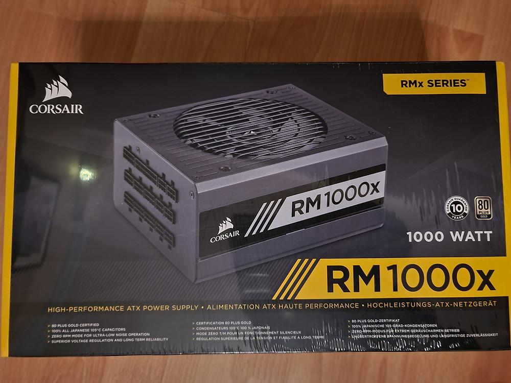Corsair RM1000x PSU
