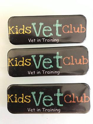 Kids Vet Club - Vet in Training Name Tag