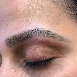 Wax and tint  #brows #njmicroblading #mi