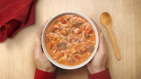 Tim Hortons - Spicy Thai Chicken Soup