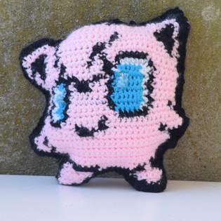 Jigglypuff 8-bit Plush