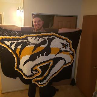 Predators Blanket