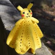 Pikachu Baby Blanket