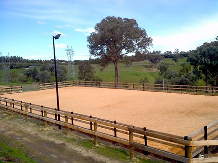 YVS Hardwood Sawdust Arena Mix Makes A Great Surface For Any Arena
