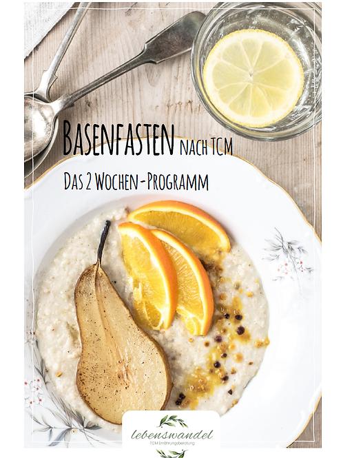 2 Wochen Programm Basenfasten nach TCM PDF