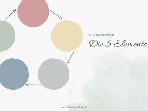 Die 5 Elemente in der TCM