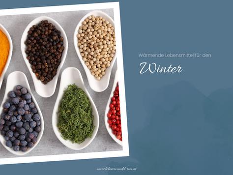 Wärmende Lebensmittel für den Winter