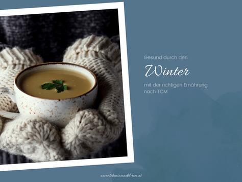Gesund durch den Winter mit der richtigen Ernährung nach TCM