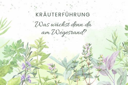 Kräuterführung Schloss Frauenstein - 17.07.2021
