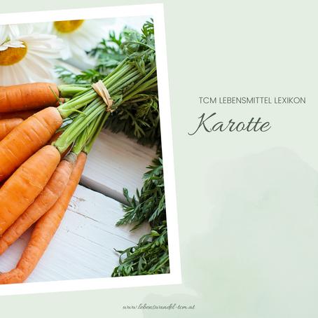Die Karotte - Balsam für die Verdauung