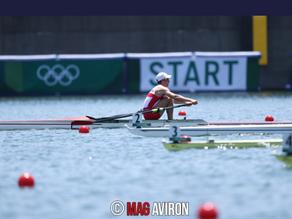 Quentin entre par la grande porte en 1/2 finale C/D aux Jeux Olympiques