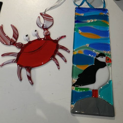 Aren't these just great_ Love the crab!