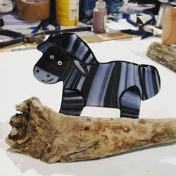 This zebra was also made by a customer t