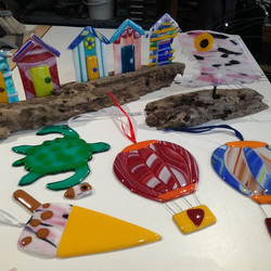 Some lovely and colourful items made in