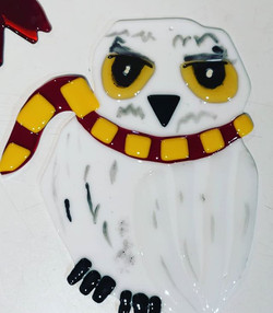 Just love this one - Hedwig made on a wo