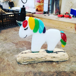 This little unicorn was made in yesterda
