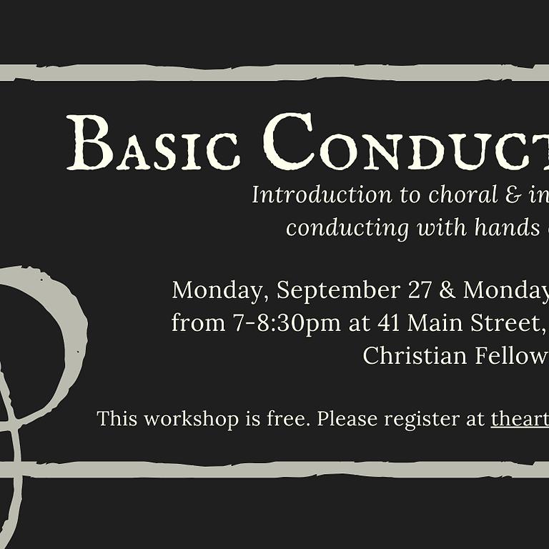 Basic Conducting