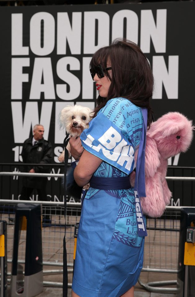 Daisy Lowe Rocks London Fashion Week