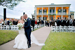 bride and groom mansion