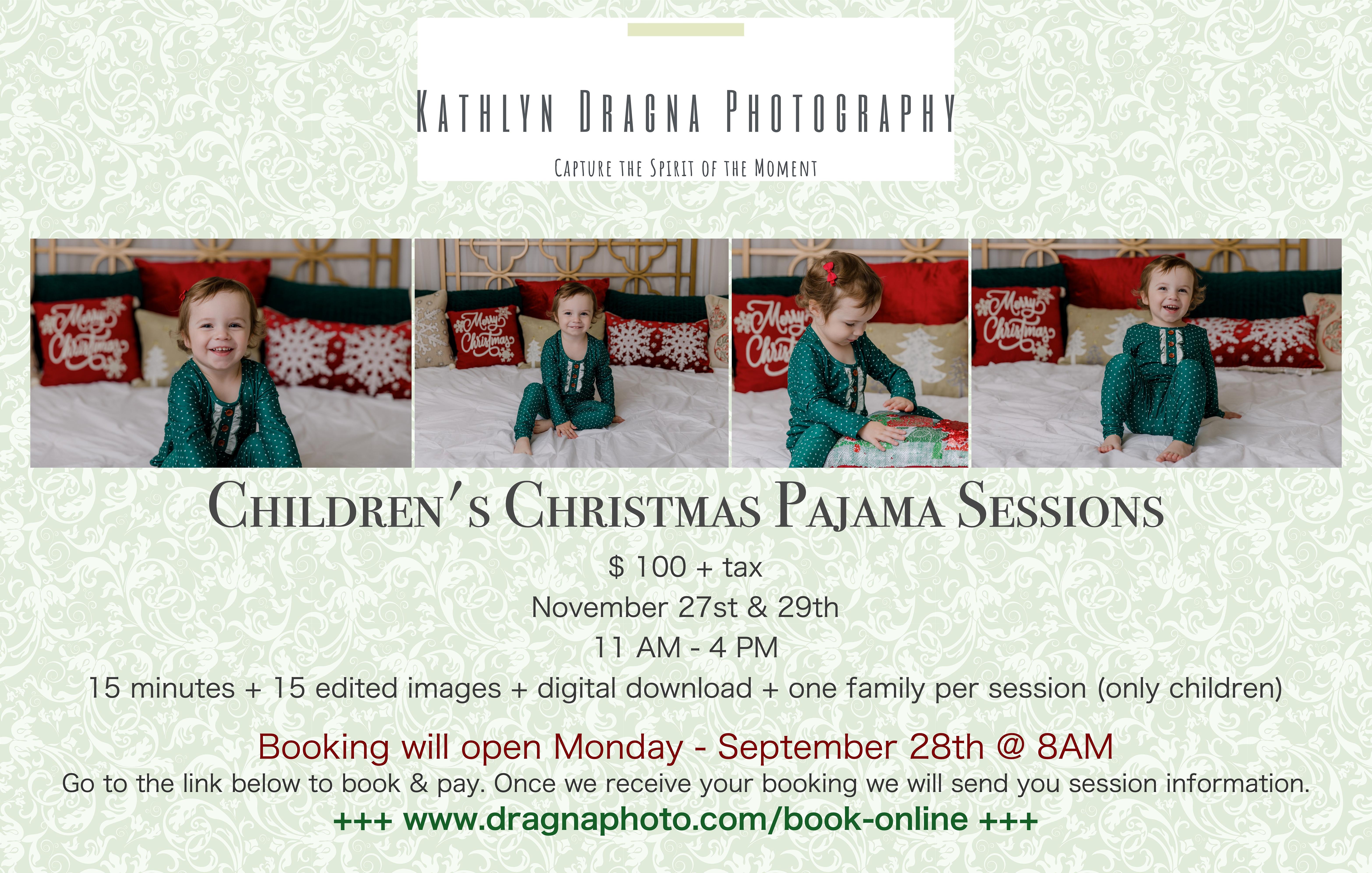 Children's Christmas PJ 2020