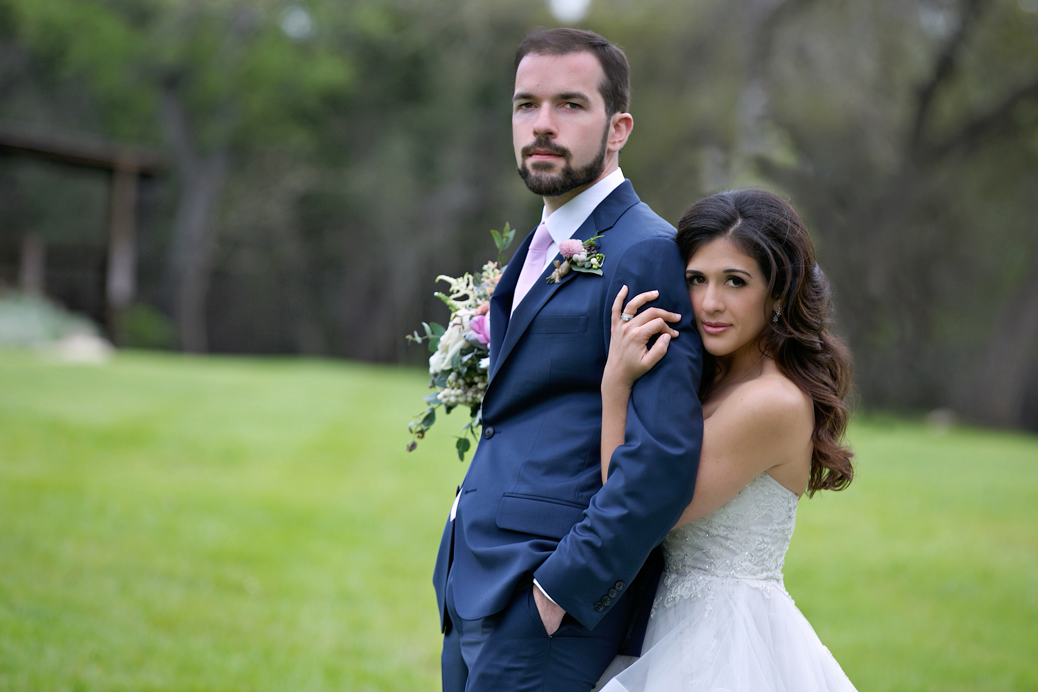 Wedding portrait, Dripping Springs