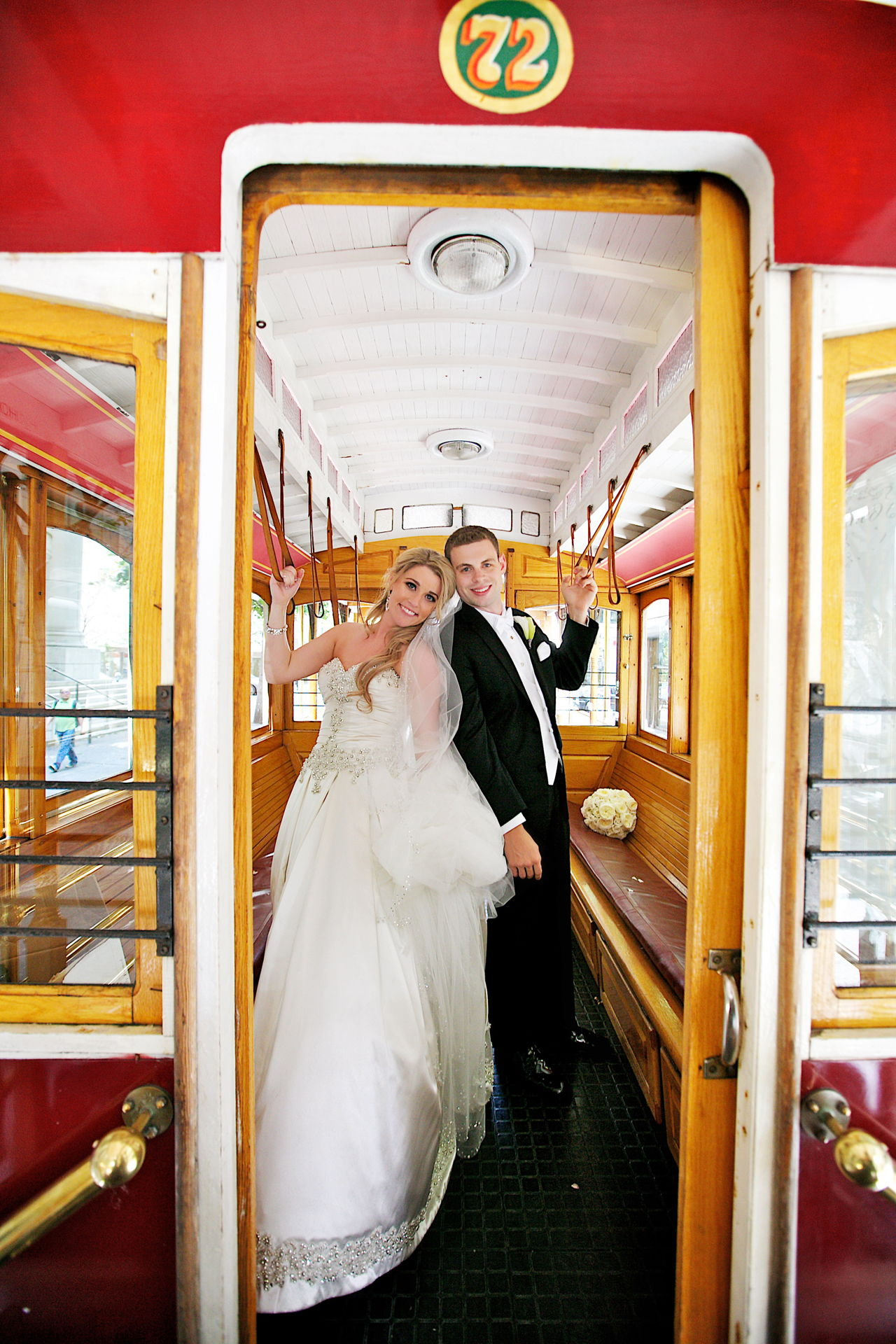 wedding trolly san francisco