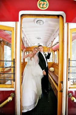 wedding trolly san francisco