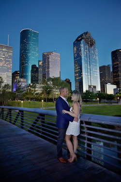 downtown Houston skyline Photograph