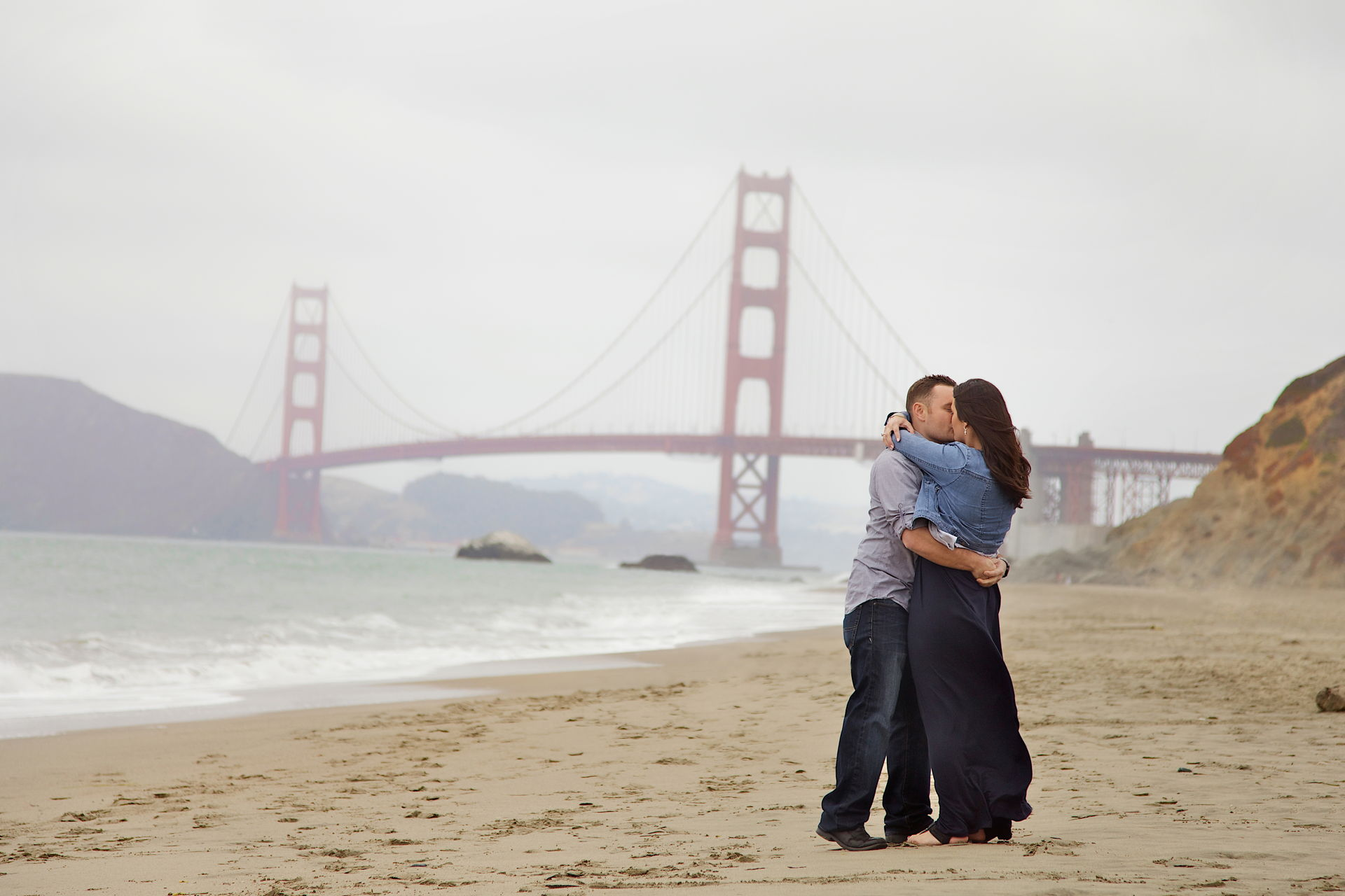 san francisco engagement photo's