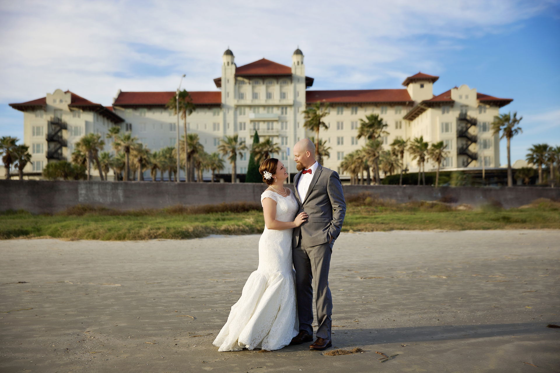 Galveston, Texas wedding san luis