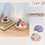 Thumbnail: 水晶寶石蠟燭工作坊(2種技法) (贈送LED實木燈座)