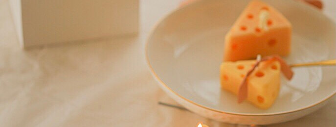 Cheese candles (6 pieces per set)