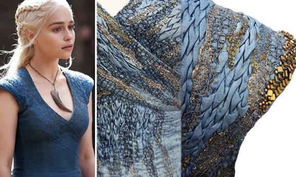 Mind Blowing Closeups! Game of Thrones Embroidery