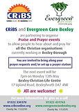 Evergreen Prayer Event flyer