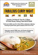 Moghul Curry night flyer