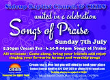 Songs of Praise 2019 flyer