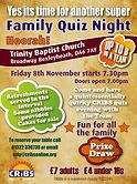 CRiBS Quiz Night flyer