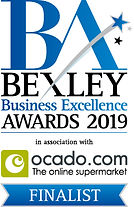 Bexley Awards Finalist badge