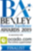 Bexley Awards Finalist badge