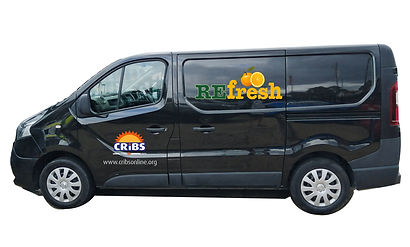 Black Renault Van