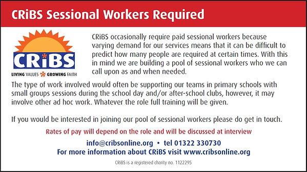 Sessional Worker Advert 2020 flye
